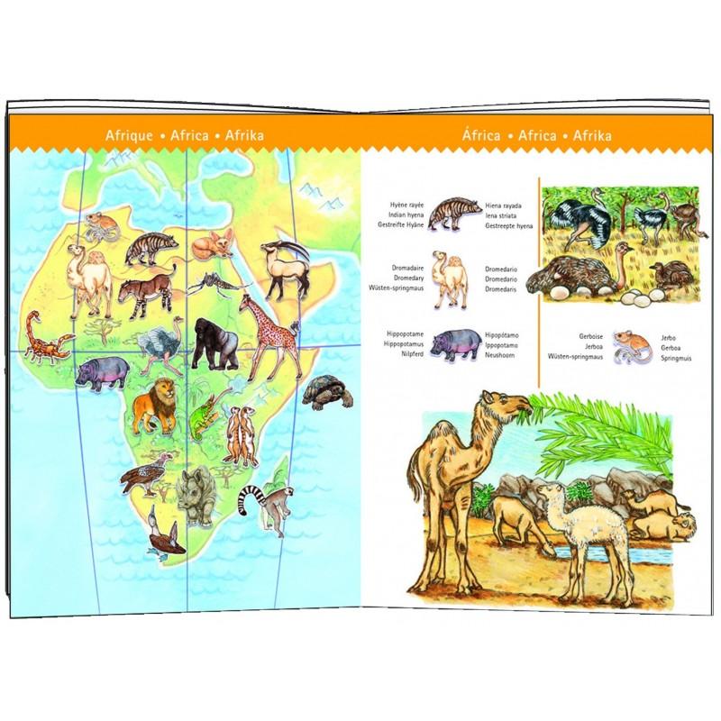 Zoekpuzzel De Dieren van de Wereld (met boekje) (100)